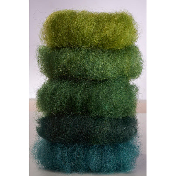 Fairytale Wool - Green Colorway