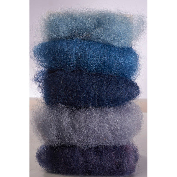 Fairytale Wool - Blue Colorway