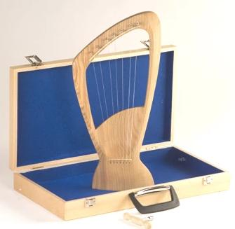 Choroi Pentatonic Harp with Wood Case
