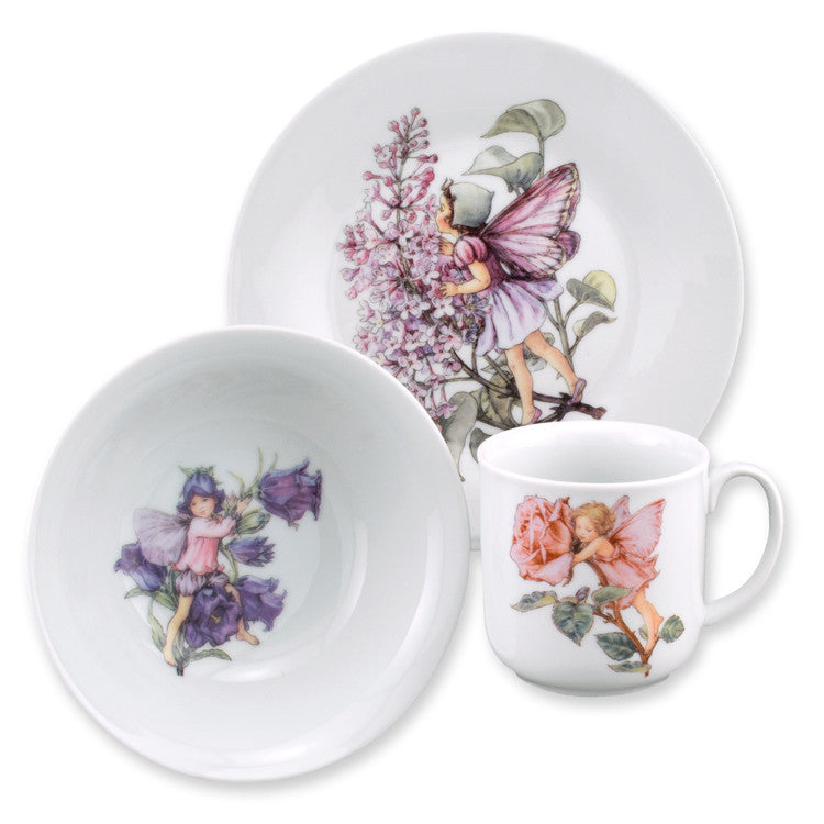 Flower Fairies 3 Piece Child's Eating Set