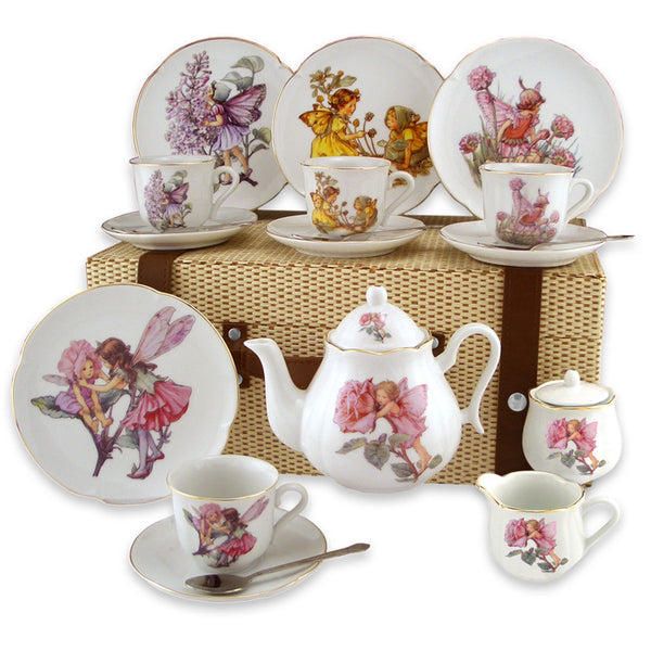Flower Fairies Large German Tea Set in Case