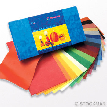 Stockmar Multicolored Wide Decorating Wax - 12 or 18 Sheet Sets