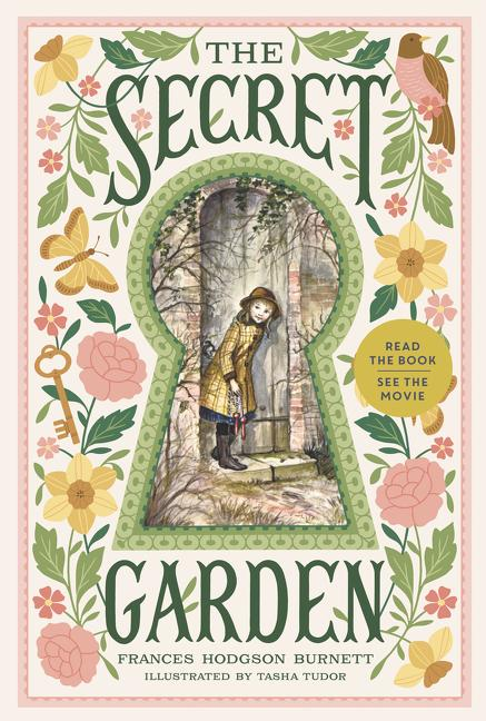 <i>The Secret Garden</i> by Frances Hodgson Burnett, illustr. by Tasha Tudor