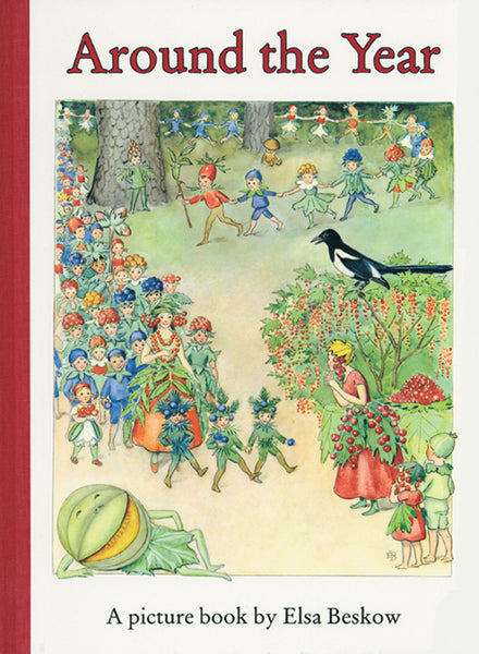 <i>Around the Year</i> by Elsa Beskow