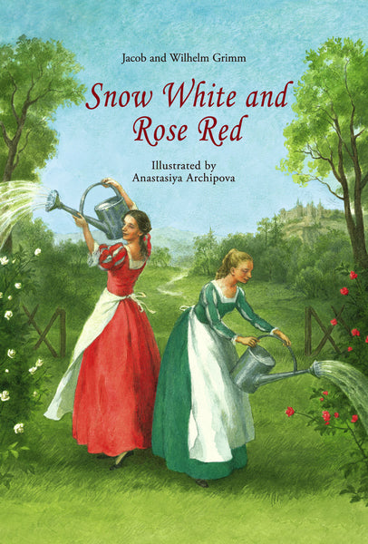 <i>Snow White and Rose Red - A Grimms' Fairy Tale</i> illustrated by Denise Marshall