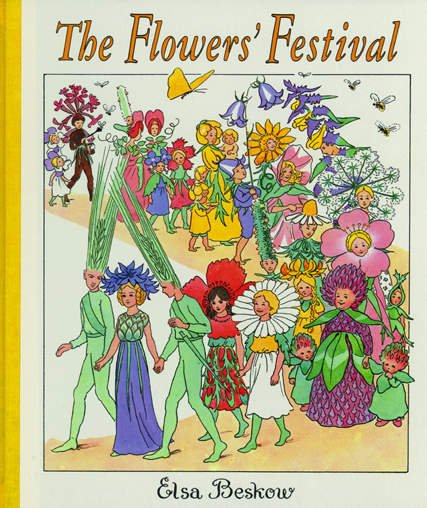 <i>The Flowers' Festival</i> <b>Mini</b> Edition by Elsa Beskow