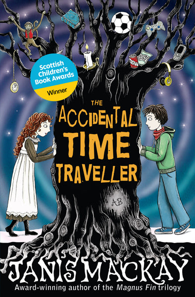 <i>The Accidental Time Traveller</i> by Janis Mackay