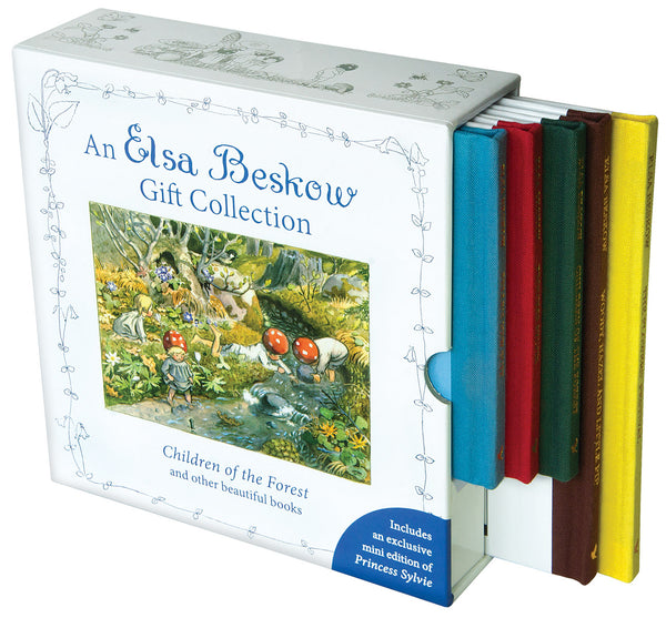 Elsa Beskow Gift Collection - Set of 5  Mini Books, including Children of the Forest