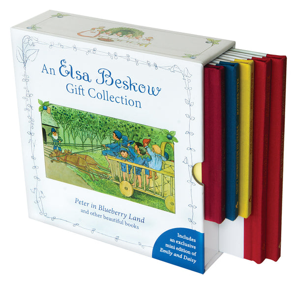 Elsa Beskow Gift Collection - Set of 5  Mini Books, including Peter in Blueberry Land