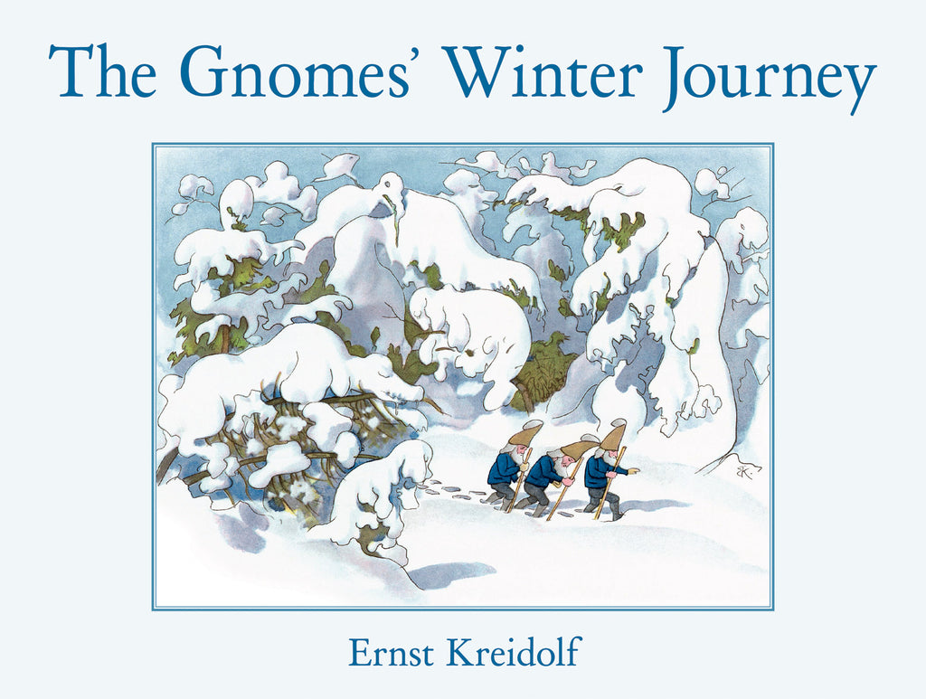 <i>The Gnomes' Winter Journey</i> by Ernst Kreidolf