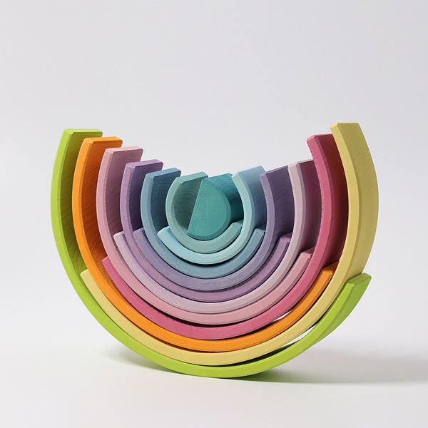 Grimm's Large Pastel Rainbow Stacker