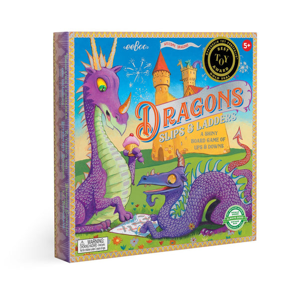 Dragons Slips and Ladder Board Game