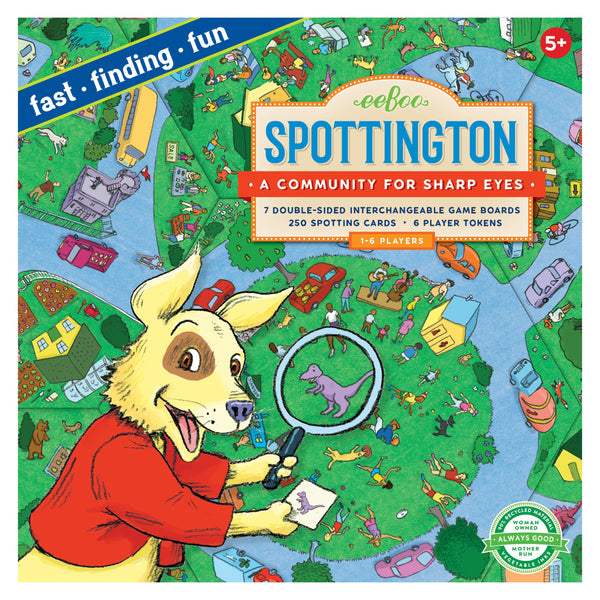 Spottington - A Game of I Spy!
