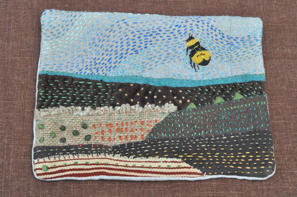 <i>Bumble Bee</i> Cloth Wall Hanging