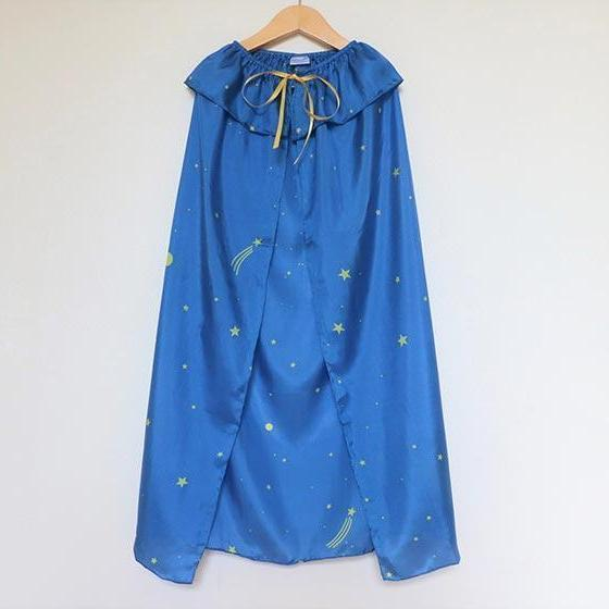 Starry Sky Silk Cape