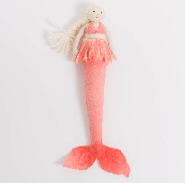 Coral Mermaid Doll