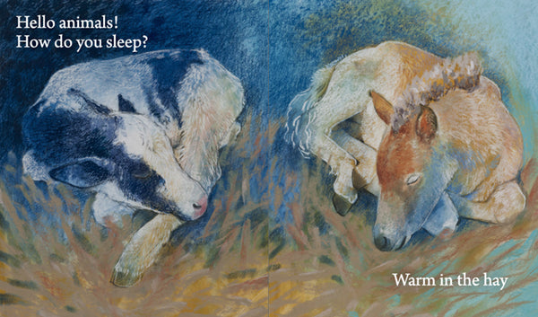 <i>Hello Animals, How Do You Sleep?</i> by Loes Botman