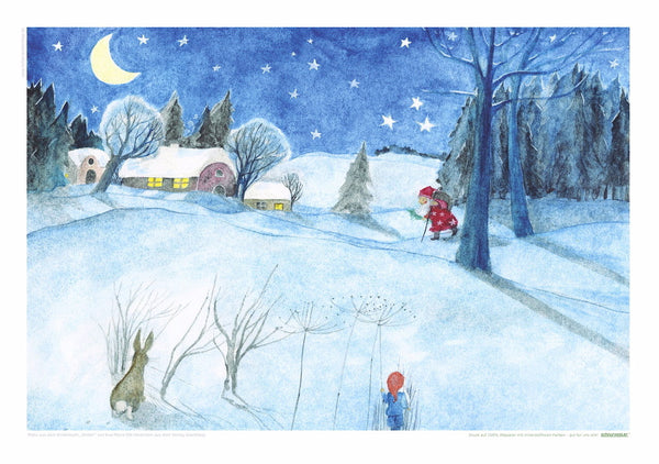 <i>Winter</i> Postcard Collection by Eva-Maria Ott-Heidmann