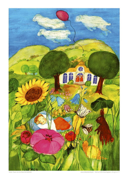 <i>Little Dream</i> Poster by Eva-Maria Ott-Heidmann