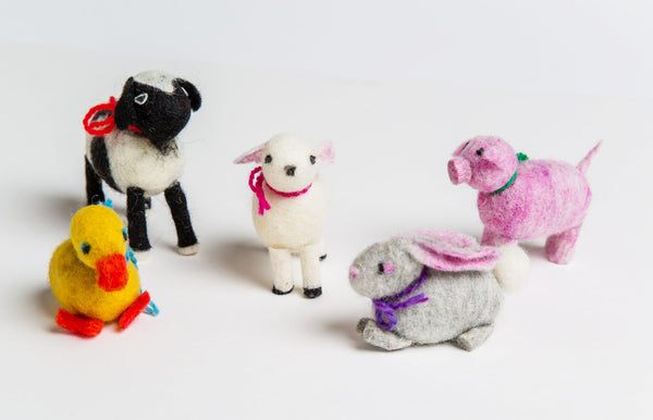 Wet Felted Animal Kit