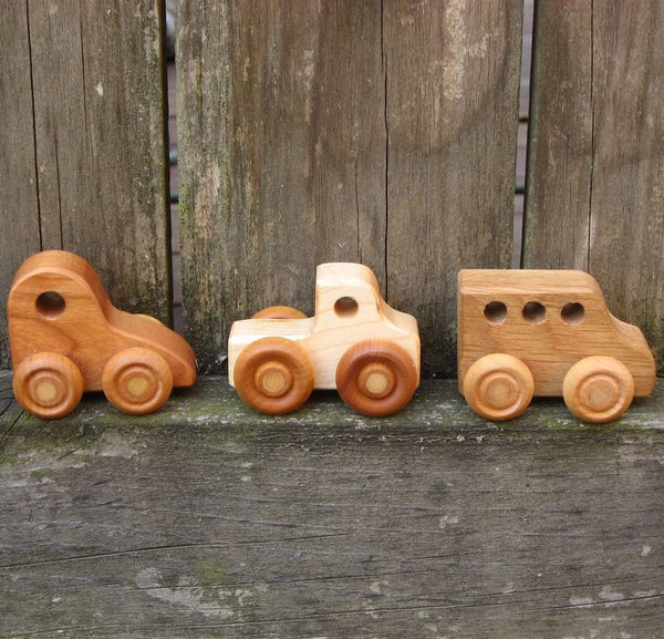 Four Rolling Vehicles
