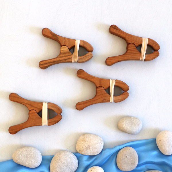Wood Play Clips - Set of 2