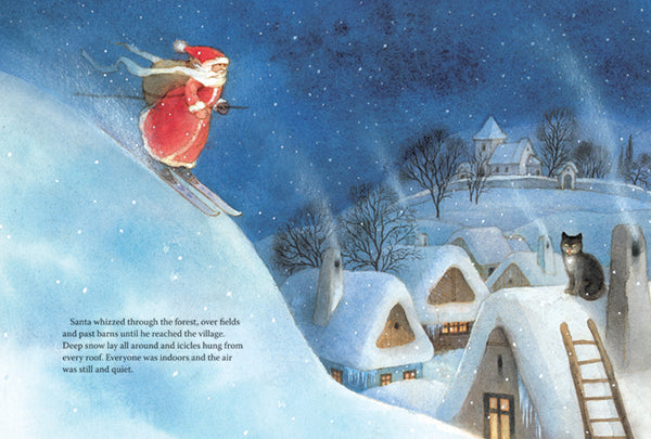 <i>Santa Claus and the Christmas Surprise</i> by Dorothea Lachner, illustr. by Maja Dusíková