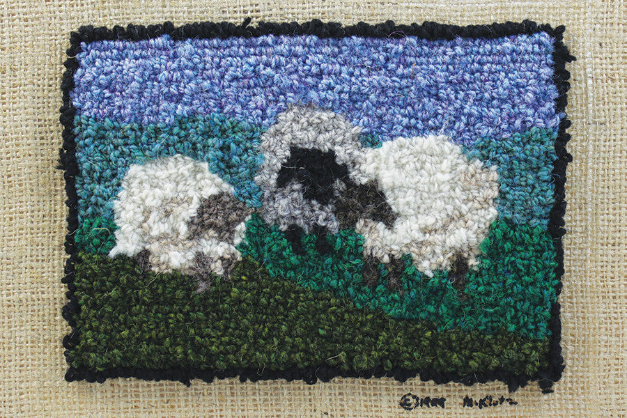 Wooly Sheep Rug Hooking Kit