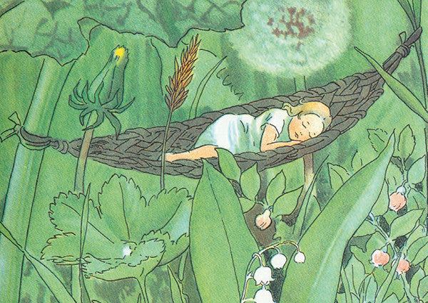 <i>Thumbelina</i> by Hans Christian Andersen, illustr. by Elsa Beskow