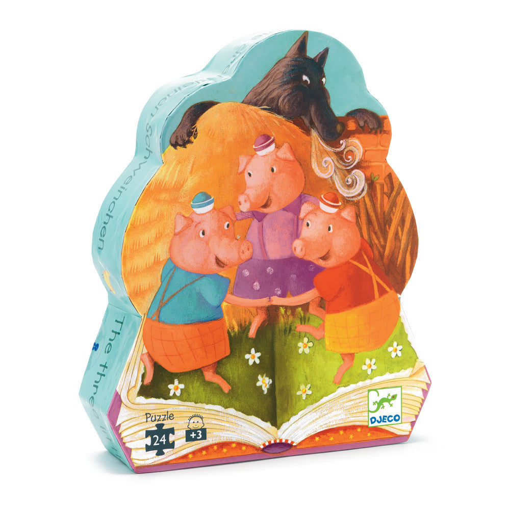 Three Little Pigs 24 Piece Puzzle
