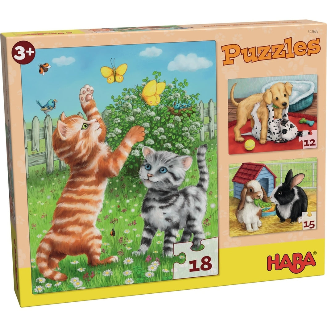 Cuddly Pet Puzzles