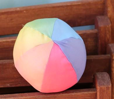 Rainbow Silk Baby Ball