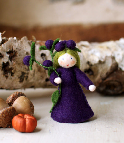 Blackthorn Fairy Felted Waldorf Doll