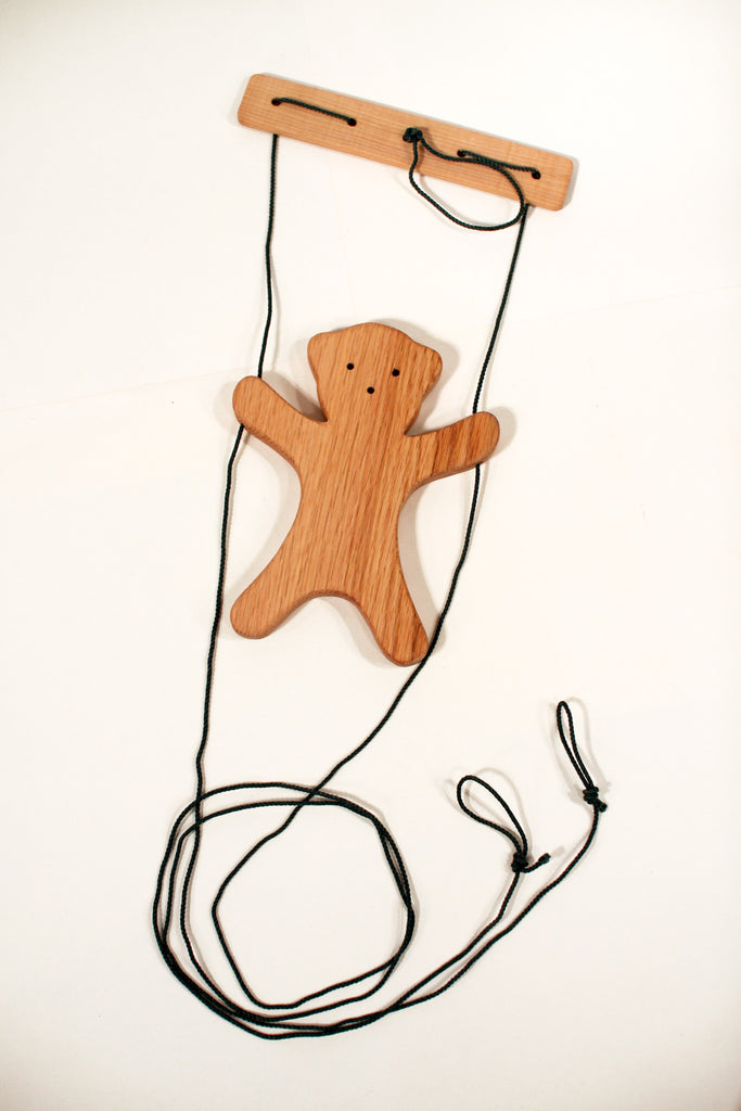 Climbing Bear Wood Toy