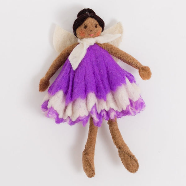 Lavender Fairy Doll