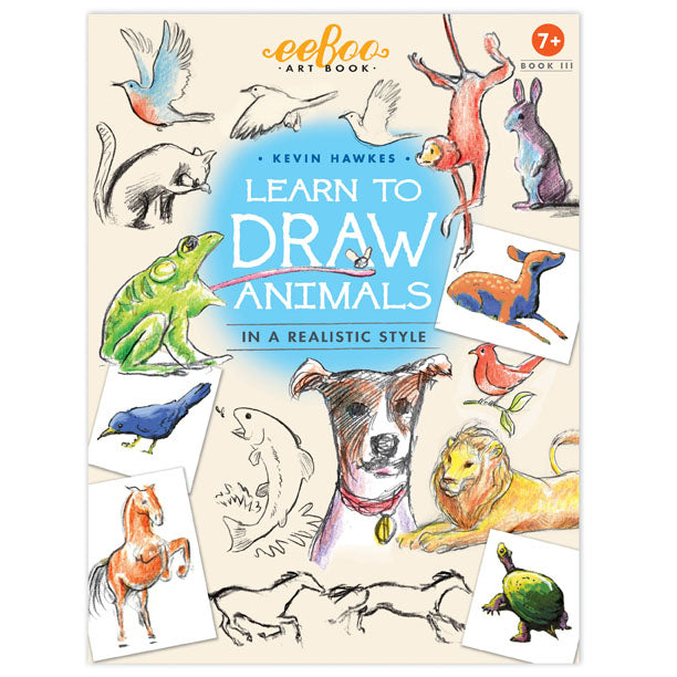 <i>Learn to Draw Animals in a Realistic Style</i> by Kevin Hawkes