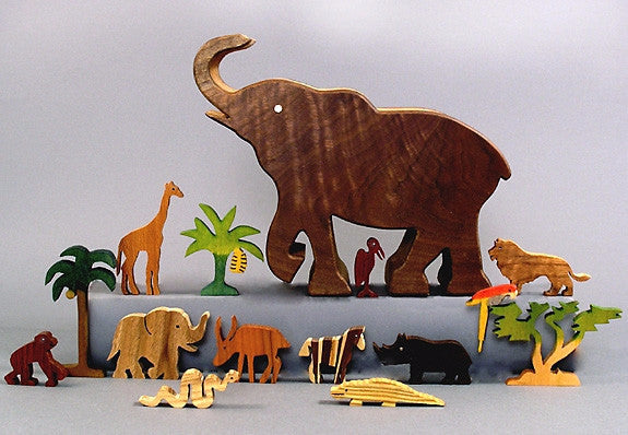 Elephant Safari Story Box Set