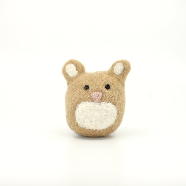 Furry Felt Rabbit