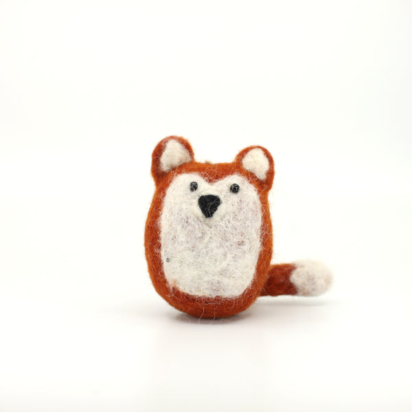 Furry Felt Fox