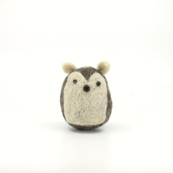 Furry Felt Hedgehog