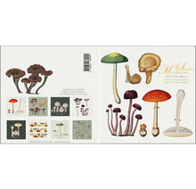 Load image into Gallery viewer, Mushrooms Stationary Folder with Set of 8 Note Cards