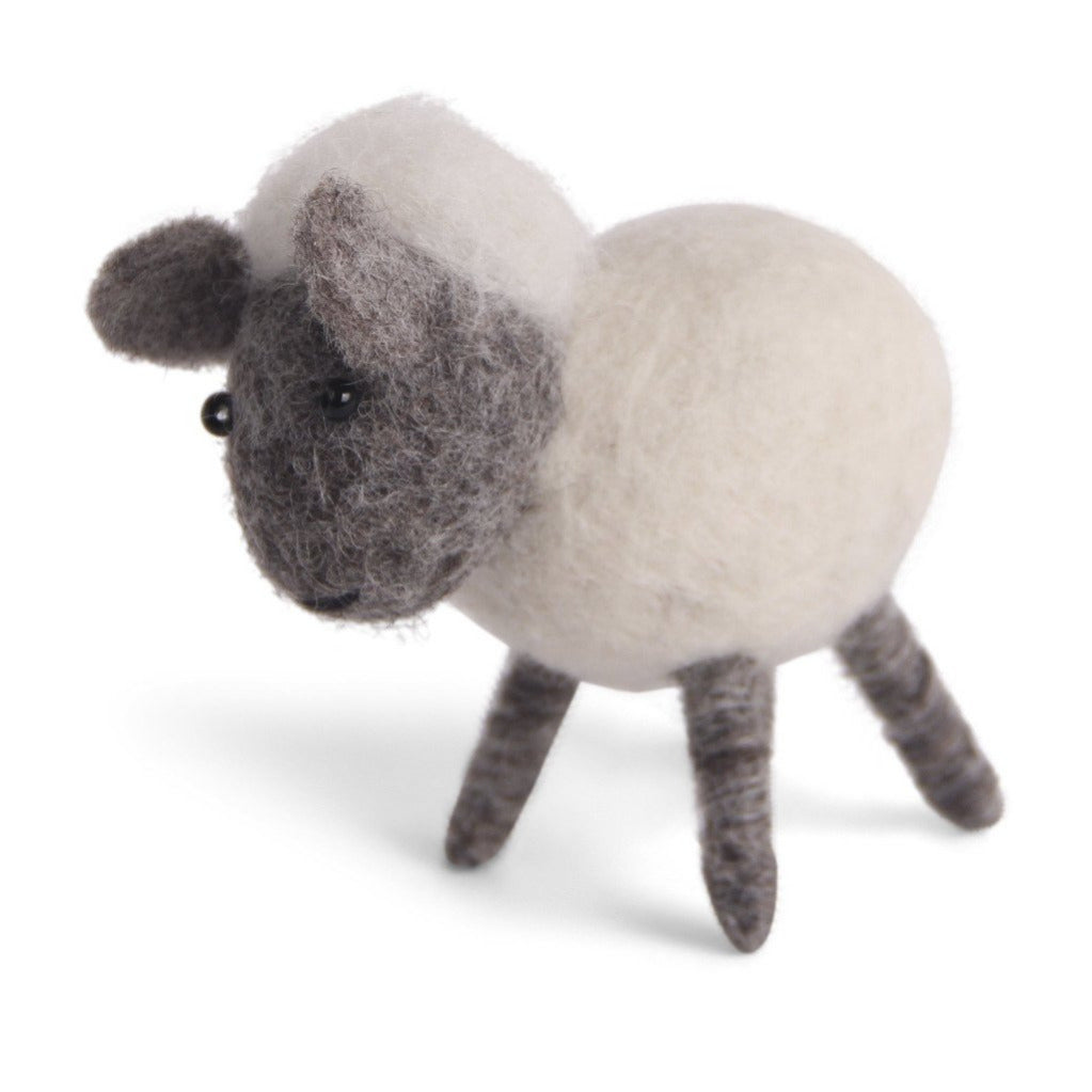 Felted Wool Lamb
