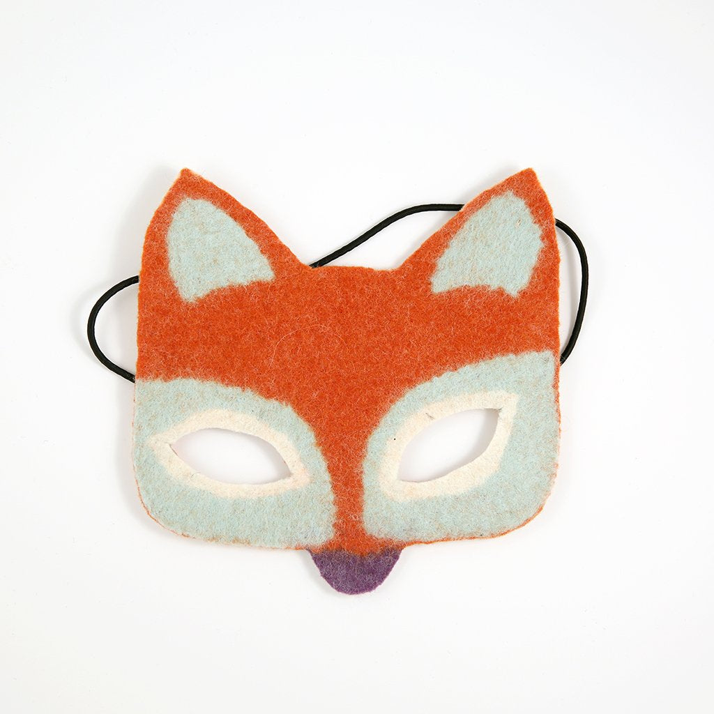 Copper the Fox Handfelted Mask