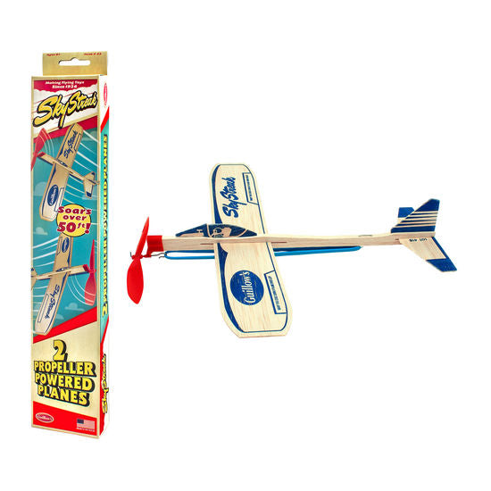 Wood Propeller Plane Kit - Set of 2