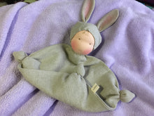 Load image into Gallery viewer, Organic Linen Bunny Blanket Baby