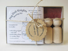 Load image into Gallery viewer, Wee Felt Knights Complete Sewing Kit