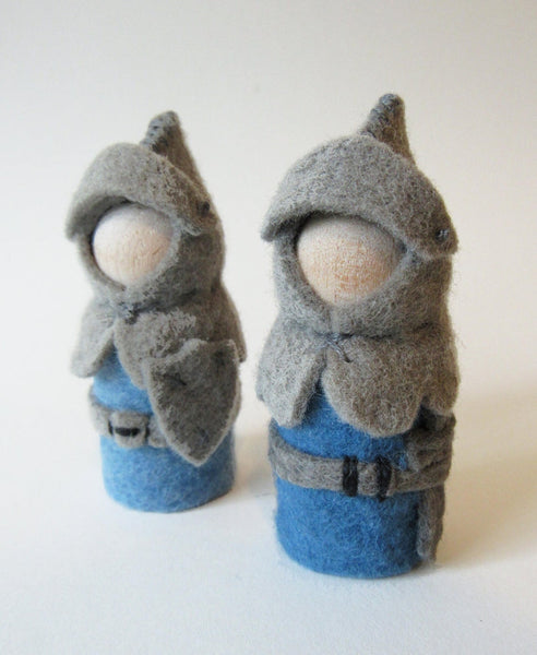 Wee Felt Knights Complete Sewing Kit