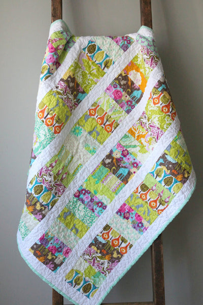 Woodland Gnomes Baby Quilt