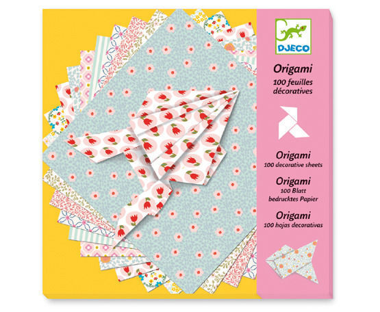 Origami Paper - 100 Sheets