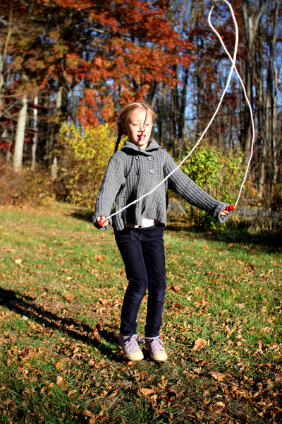 Jump Rope with Red Handles